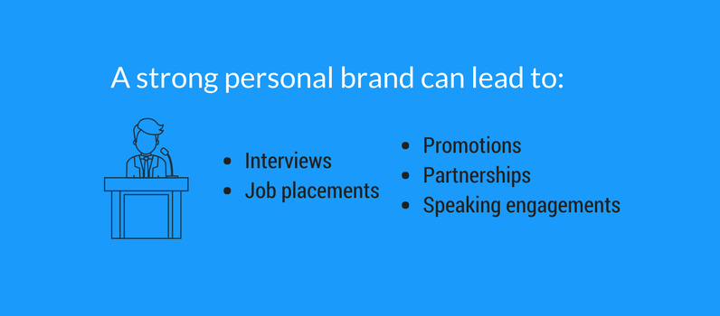 List of personal branding benefits